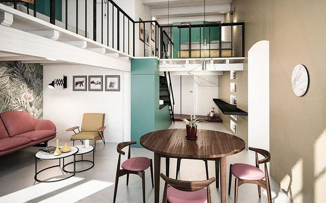 Ngôi nhà trang trí màu sắc tuyệt đẹp theo phong cách Ý - Ảnh 2.