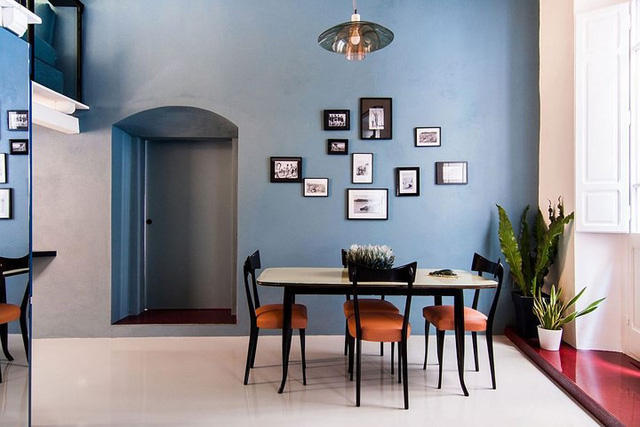 Ngôi nhà trang trí màu sắc tuyệt đẹp theo phong cách Ý - Ảnh 5.
