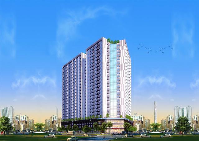 Cất nóc dự án nhà ở xã hội đầu tiên tại Nha Trang - Ảnh 2.