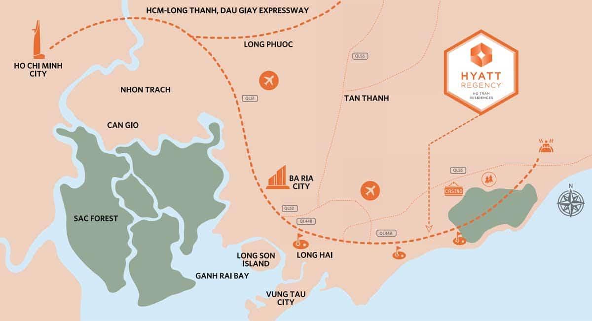 Vi-tri-Du-an-Hyatt-Regency-Ho-Tram-Residences